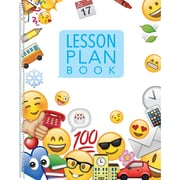 Creative Teaching Press Emoji Fun Lesson Plan Book, bundle of 3 (CTP2035)