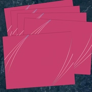 Great Papers Petal Touch Certificate Covers, Pink, 5 Per Pack (2019000)