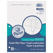 "Pacon Graph 4:1"" Paper, Quad, 8"" x 10.5"", 960/Set (PACMMK09273)"