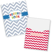 "Creative Teaching Press Chevron Lesson Plan Book & 9""x12"" Library Pocket Organizers Combo (CTP8908)"