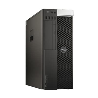 Dell™ Precision 5810 Intel Xeon E5-1650 v4, 1TB HDD, 32GB, Windows 7 Pro, NVIDIA Quadro M2000 Business Workstation