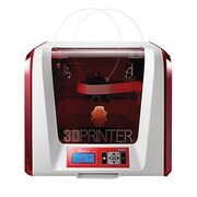 XYZ Printing da Vinci Jr. 2.0 Mix 3F2JWXUS00D 3D Printer, Red/White