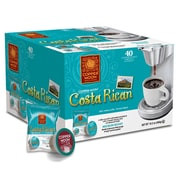 Copper Moon Coffee Single Cups for Keurig K-Cup Brewers Costa Rican, 40 Count (292133-BOX)