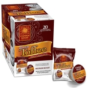 Copper Moon Coffee Single Cups for Keurig K-Cup Brewers Butter Toffee, 20 Count (292175-BOX)