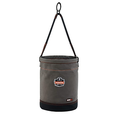 Arsenal® 5960 Canvas Hoist Bucket with D-Rings, L, 1 pack (14960)