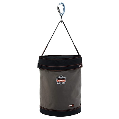 Arsenal® 5945T XL Swiveling Carabiner Canvas Hoist Bucket with Top, XL, 1 pack (14845)