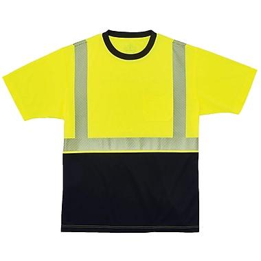 GloWear® 8280BK Type R Class 2 Black Front Performance T-Shirt, XL, 1 pack (22535)