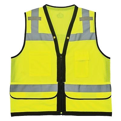 GloWear® 8253HDZ Type R Class 2 Heavy-Duty Mesh Surveyors Vest, L/XL, 1 pack (23325)