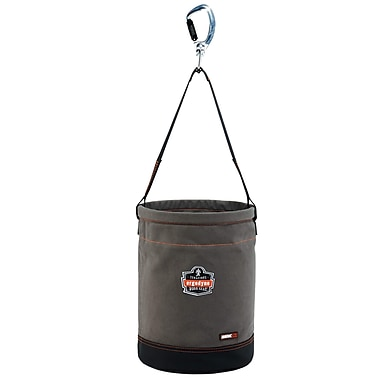 Arsenal® 5940 Swiveling Carabiner Canvas Hoist Bucket, L, 1 pack (14940)
