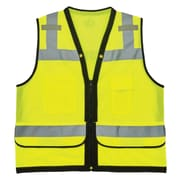 GloWear® 8253HDZ Type R Class 2 Heavy-Duty Mesh Surveyors Vest, 2XL/3XL, 1 pack (23327)