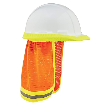 GloWear® 8005 Hi-Vis Mesh Neck Shade w/ Reflective, 6 pack (29051)