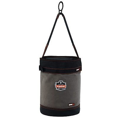 Arsenal® 5960T Canvas Hoist Bucket with D-Rings and Top, L, 1 pack (14860)