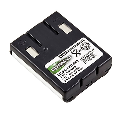 Ultralast BATT-999 3.6 V Ni-CD Cordless Phone Battery For Uniden EXS9910