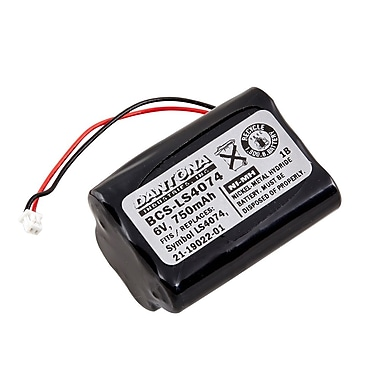 Dantona BCS-LS4074 6 V Ni-MH Bar Code Scanner Battery For Symbol LS4070 (BCS-LS4074)