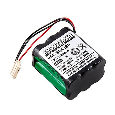Dantona VAC-BRA380 7.2 V Ni-MH Vacuum Battery For iRobot - Braava 380 (VAC-BRA380)
