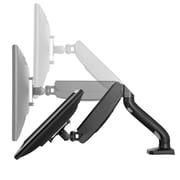 Uncaged Ergonomics Adjustable, Single Computer Monitor LCD Arm/Mount , Black (MM-b)