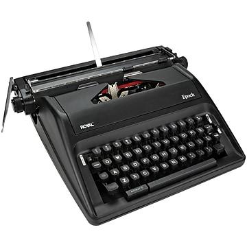 Royal Epoch Manual Typewriter, Black (79100g)