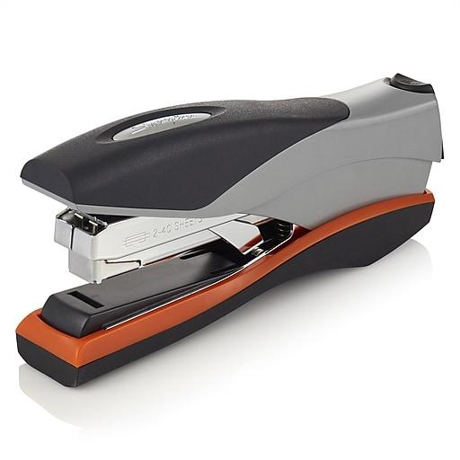 Swingline® Optima® Reduced Effort Desk Stapler, 40 Sheet Capacity, Silver/Black (87845)