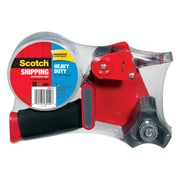 "Scotch® Heavy Duty Shipping Packing Tape with Dispenser, 1.88""W x 54.6 yds., Clear (3850-ST)"