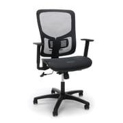 Essentials by OFM Mesh Seat Ergonomic Office Chair, Black (ESS-3055-BLK)
