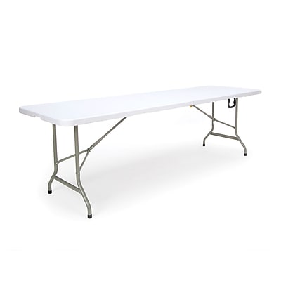 OFM Essentials by OFM Blow Molded Center Folding Utility Table, 30