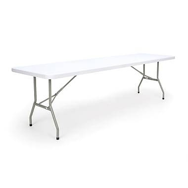 OFM Essentials By OFM Blow Molded Folding Utility Table, 30