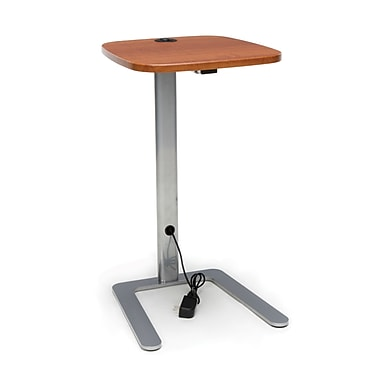 OFM Accent Table with USB Grommet, Cherry (ACCTAB-CHY)