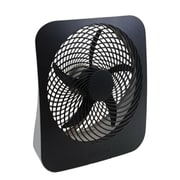 "O2Cool® 10"" Portable Fan with AC Adapter, Cool Gray (FD10002A) (FD10002ACV)"