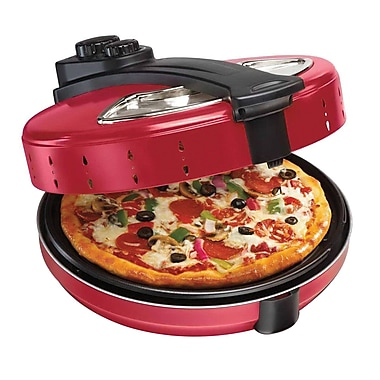 Hamilton Beach® Electric Pizza Maker, Red (31700)