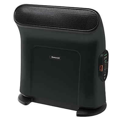 Honeywell® EnergySmart 1500 W Portable Ceramic ThermaWave Heater, Black (HZ860)