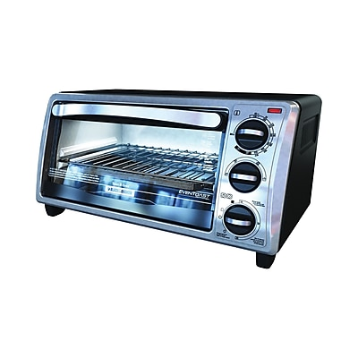 Black & Decker™ 4-Slice Toaster Oven, Black (TO1313SBD)