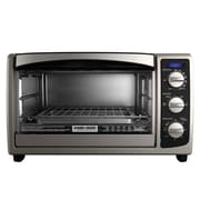 Black & Decker™ 6-Slice Countertop Convection Toaster Oven, Black (TO1675B)