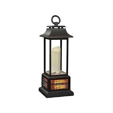 Twin Stars LED Electric Candle Lantern Outdoor Heater, Bronze (10ILH30001)
