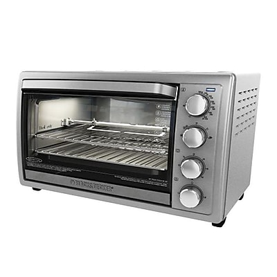 Black & Decker 9-Slice Rotisserie Oven, Silver (TO4314SSD) 2697789