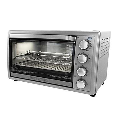 Black & Decker™ 9-Slice Rotisserie Oven, Silver (TO4314SSD)