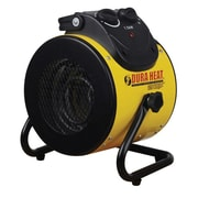 World Marketing Electric Forced Air Heater with Pivoting Base, Yellow (EUH1500)