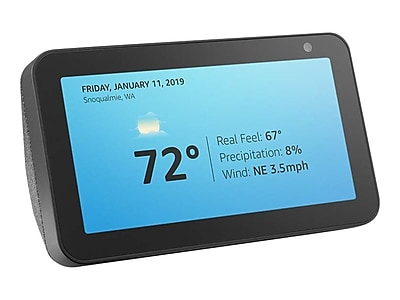 Amazon Echo Show 5 Smart Display, Charcoal (53-017903)