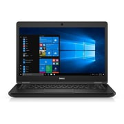 "Refurbished Dell 14-5480 14"" LCD Intel Core i5-6300U 256GB 8GB Microsoft Windows 10 Professional Laptop Black (1499332699)"