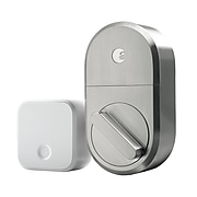 August Smart Lock and Connect (Satin Nickel)