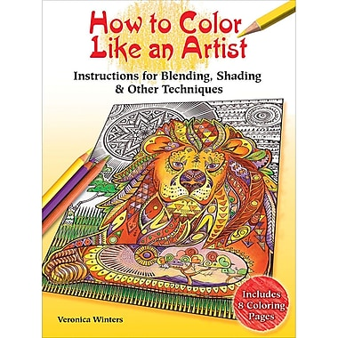 Dover Publications-How To Color Like An Artist