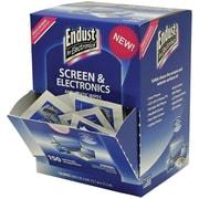 Endust For Electronics Efe14316 Screen & Electronics Antistatic Wipes Dispenser, 150 Ct