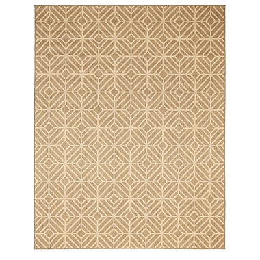 Mohawk Home Oasis Rockport Natural Rug, 5'3 H x 7'6 W (797786006547)