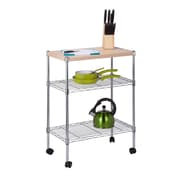 Honey Can Do Mini 3 Tier Dining Cart, chrome ( CRT-04346 )