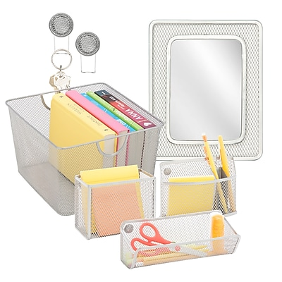 Honey Can Do Back to School kit 6, Silver