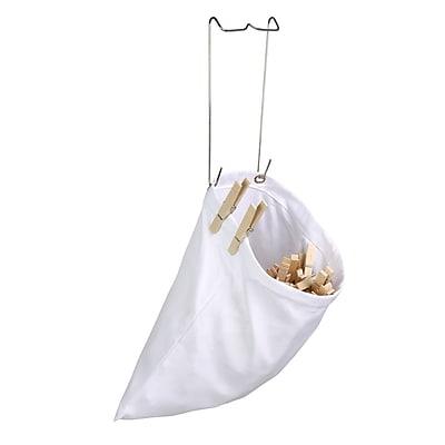 Honey Can Do Clothespin Bag- 2 Pieces, White ( DRYZ01313 )