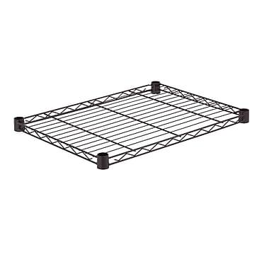 Honey Can Do Steel Shelf - 350 lb black 18x24, black ( SHF350B1824 )