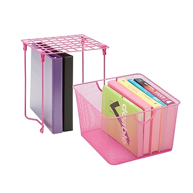 Honey Can Do Back to School kit 9, Hot Pink
