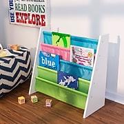 Honey Can Do book rack pastel, pastel / white ( SHF-05078 )