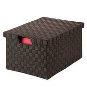 Honey Can Do Large File Box, espresso ( OFC-03709 )