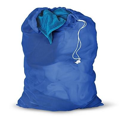 Honey Can Do 2 Pack Mesh Laundry Bag, blue ( LBGZ01161 )